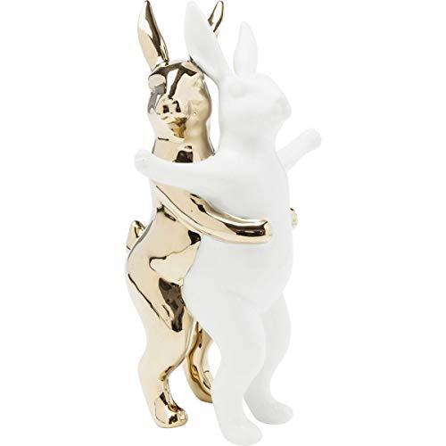 Kare Design Figur Hugging Rabbits Deko, medium