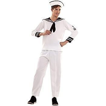 Disfraz de Marinero para hombre: Amazon.es: Juguetes y juegos