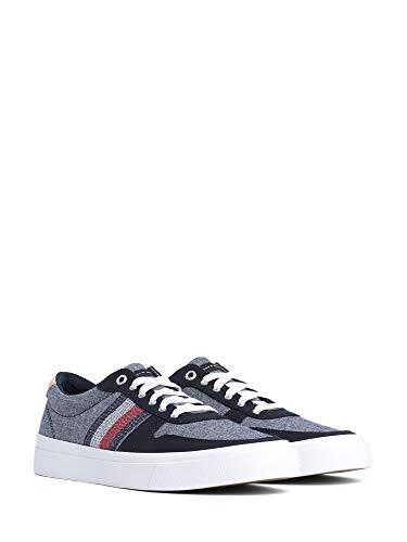Tommy Hilfiger Core Craft Vulc Sneaker, Scarpe da Ginnastica Basse Uomo, Blu (Midnight 403), 43 EU