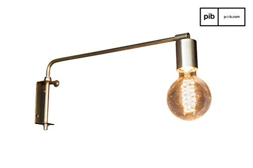 Bloomingville Wandlampe Brass Finish Messing