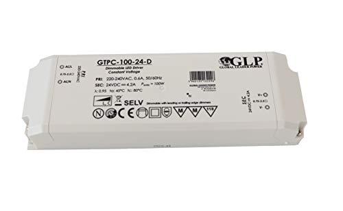 24v DC Netzteil primär/direkt dimmbar MM Möbeleinbau Trafo Driver GLP GTPC-100-24-D (100w)