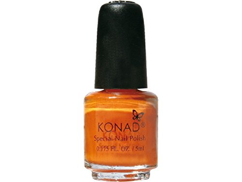 Esmalte especial pequeño Konad (5ml) P10 PASTEL ORANGE