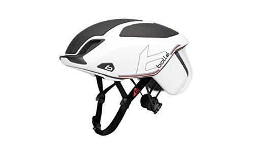 bollé Erwachsene The One Premium Cycling Helmets, White Black, 54-58 cm