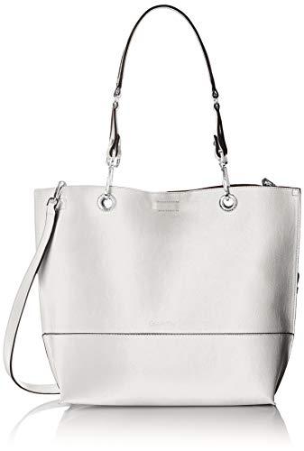 Calvin Klein Sonoma Reversible Novelty North/South Tote, White