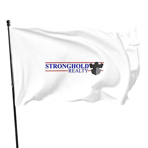Banderas de bandera N/F Stronghold Realty, 0,9 x 1,5 m