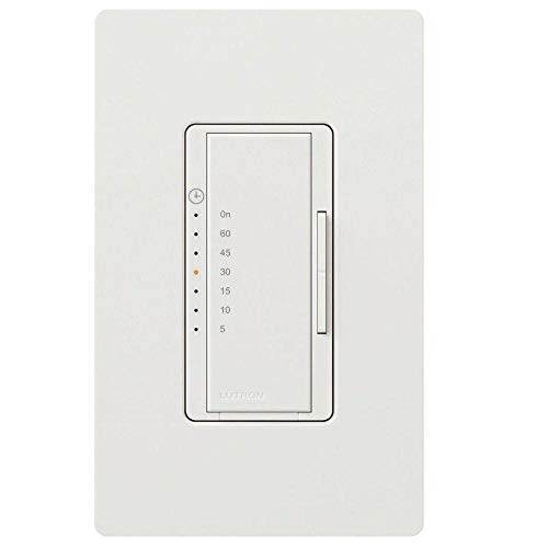 Lutron A-T51H-WH Countdown Timer by Maestro MfrPartNo MA-T51H-WH