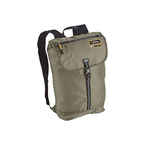 Eagle Creek National Geographic Adventure Packable Backpack, Mineral Green, 15L