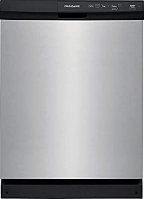 Frigidaire FFCD2413U 24 Inch Built In Dishwasher with 3 Wash Cycles, 14 Place Settings, Hard Food Disposer, Quick Wash (Stainless Steel)