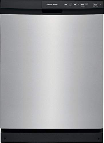 Frigidaire FFCD2413US 24 Inch Built In Full Console Dishwasher with 3 Wash Cycles, 14 Place Settings, in Stainless Steel