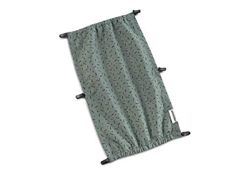 CROOZER Sonnenschutz für Kid 1 Modelle - Kaaos Kollektion, Farbe:Jungle Green/Black