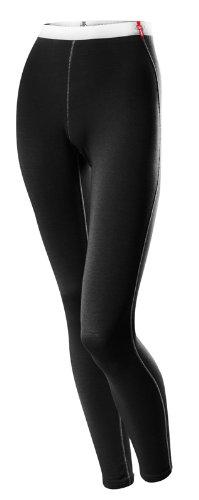 Löffler Damen Unterhose lang Transtex Warm, schwarz, 40, 10747