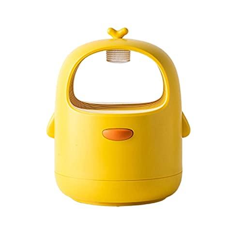 MagiDeal Lámpara USB para Matar Mosquitos, lámpara UV, Forma de Dibujos Animados, Trampa para Moscas silenciosa, Repelente de plagas para el hogar Interior