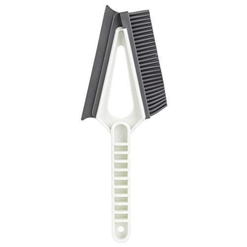 Cafopgrill Dubbele kop TPR borstel deur venstergroef reinigingsborstel krassen glasvenster sleuf reiniging kleine huishoudveegschop en borstel