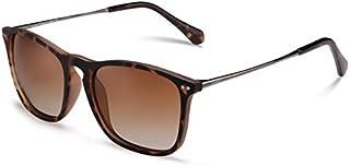 Carfia Vintage Polarized Sunglasses for Women Men UV400 Protection Classic Designer Style