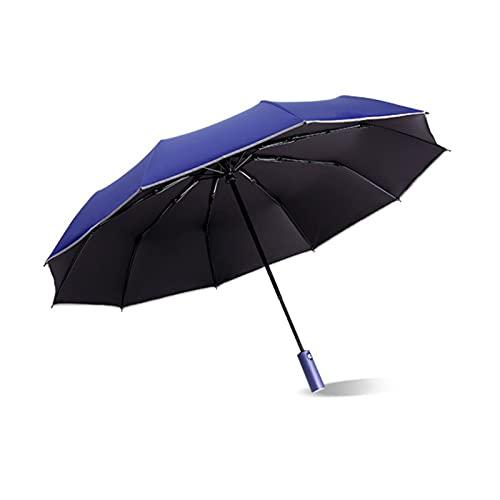 Paraguas de viaje para lluvia, apertura automática, ligera y ligera sombrilla para lluvia para hombres y mujeres, paraguas compacto automático, paraguas de viaje plegable C