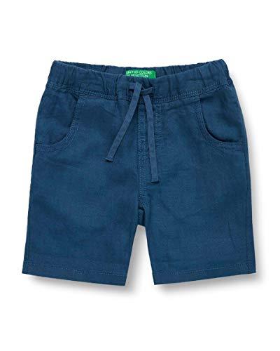 United Colors of Benetton Baby-Jungen Shorts, Blau (Ensign Blue 217), 80/86 (Herstellergröße: 1y)