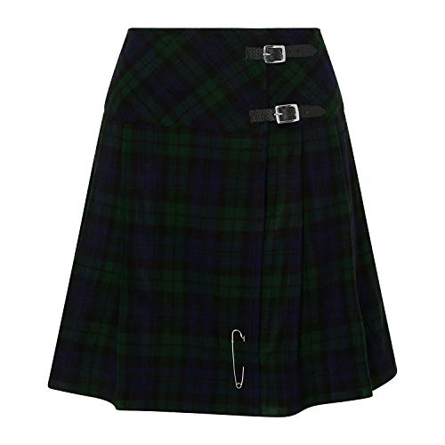 Tartanista Black Watch 20 inch Kilt Skirt - Size US 16