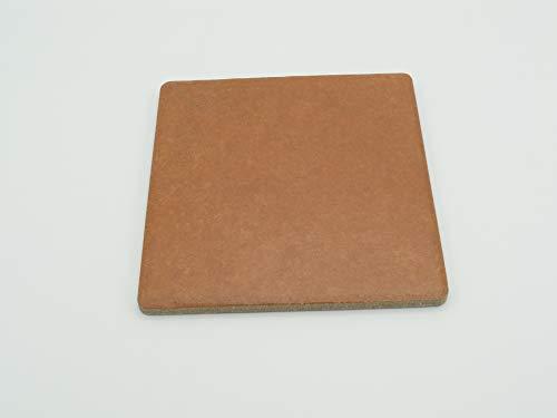 Granito Forte Piastrelle Ceramica Gres Porcellanato 15,2 x 15,2 Spess.Cm 0,75 Tufo Rosso - 1 Scatola 35 Pz mq 0,81