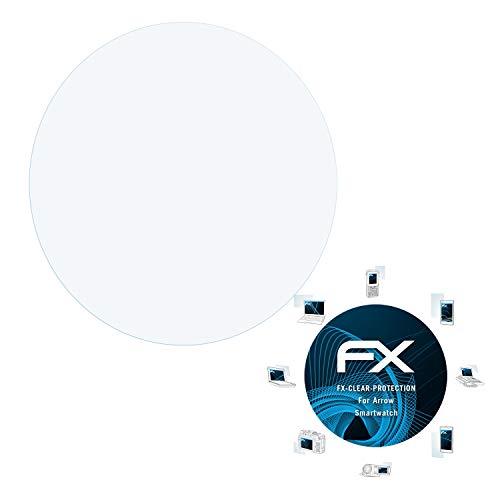 atFoliX Schutzfolie kompatibel mit Arrow Smartwatch Folie, ultraklare FX Displayschutzfolie (3X)