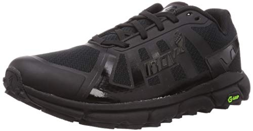 Inov-8 Mens Terraultra G 270 Trail Running Shoes - Zero Drop for Long Distance Ultra Marathon Running - Black - 11