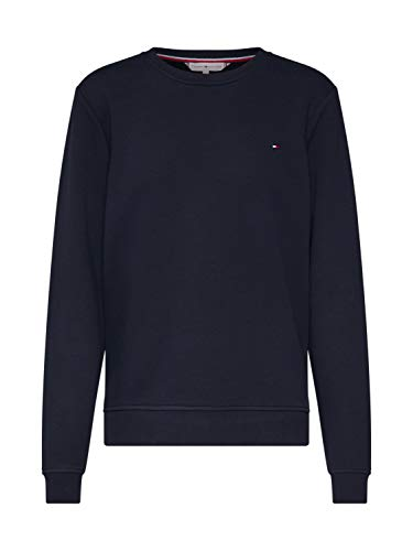 Tommy Hilfiger Mujer Heritage Crew Neck Sweatshirt Sudadera Not Applicable, Azul (Midnight 403), Large