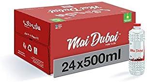 صندوق زجاجات مياه من ماي دبي، 24 × 500 مل