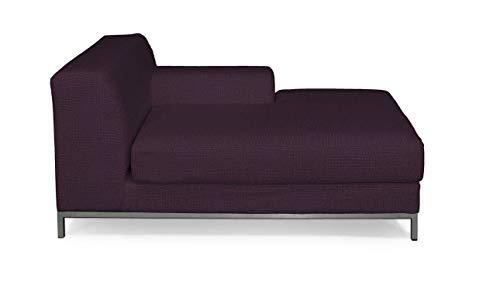 Dekoria Kramfors Recamiere rechts Sofabezug Sofahusse passend für IKEA Modell Kramfors violett
