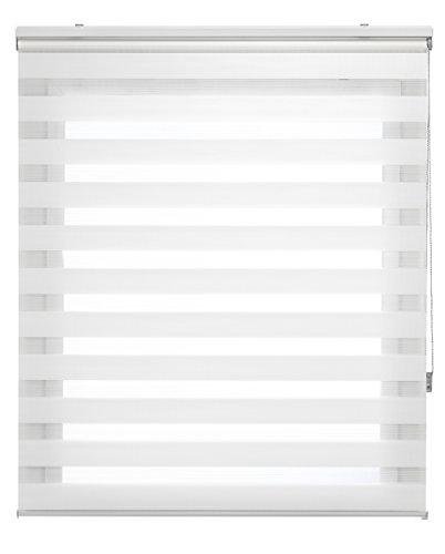 Uniestor Basic - Estor noche/día, Crema, 120X250 cm