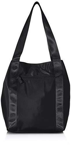 TOM TAILOR Shopper Damen, Zeni, (Schwarz), 40x34x13.5 cm, TOM TAILOR Schultertasche, Handtaschen Damen