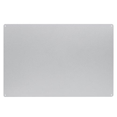 KalaMitica Placa Metálica, 56x38 cm, Gris Claro