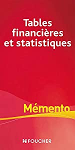 Tables financières et statistiques de Patricia Falguières