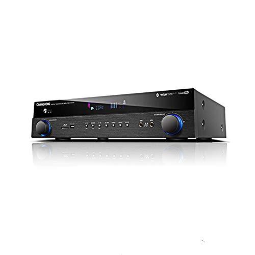 JYY Bluetooth 4.0 Amplificateur Numérique, HDMI Home Cinéma 5.1 Canaux Amplificateur Numérique, pour Kara OK Fibre Coaxiale,750W