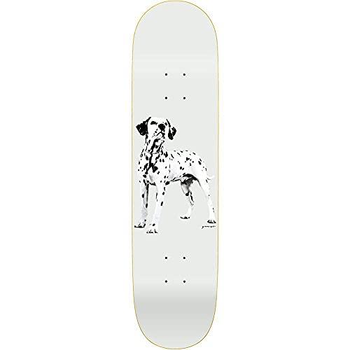 Quasi Skateboards Good Boy 1 - Tavola da skateboard 20,3 cm, colore: Bianco