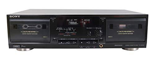 Sony TC-WR 535 Kassettendeck Doppelkassettendeck in schwarz
