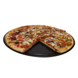 Solut 74553 SBS Paper Take and Bake Pizza Tray, 13' Diameter, Black, for 12' Pizza (Case of 150)
