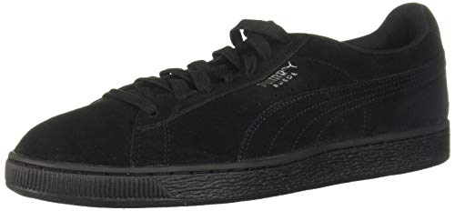 PUMA Mens Suede Classic+ Athletic Running Sneaker 35263477 (8.5 M US, Black)
