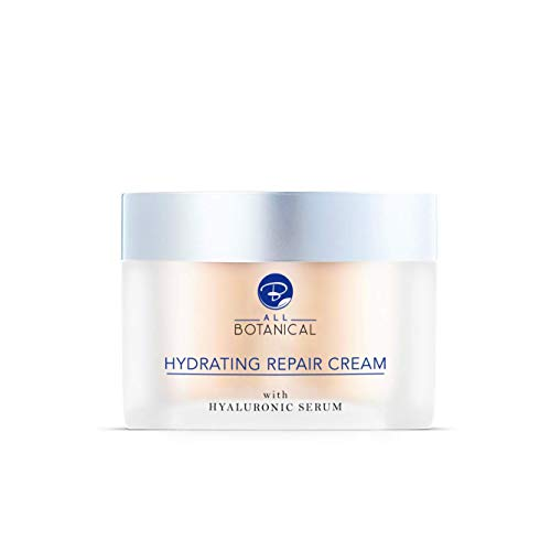 Anti-Wrinkle Cream with Hyaluronic Serum, Aloe Vera, Vitamins C, E, B5, Snail Extract + More - Intensive Natural Day Cream to Repair Your Skin and Reduce Signs Of Ageing, 50 ml