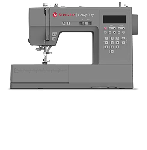 SINGER | HD6700 Electronic Heavy Duty Sewing Machine with 411 Stitch Applications - Sewing Made Easy