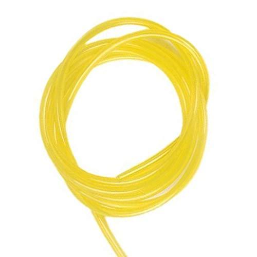 N-K Tira decorativa de 5 m, universal, para interiores y exteriores, color amarillo