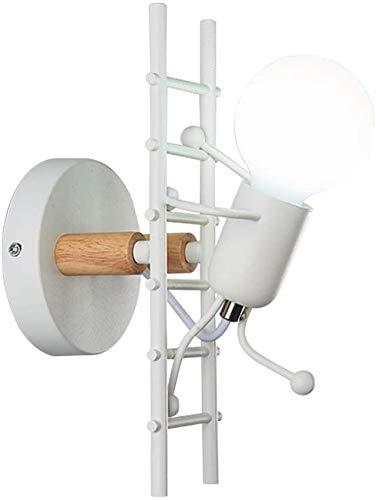 Eastinghouse kinderwandlampen van hout en metaal, kinderschool, jongens meisjes cartoon nachtkastje, led-wand, voor trappen in de slaapkamer, hal, E27, modern