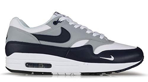 Nike Air MAX 1 LV8, Zapatillas para Correr Hombre, White Obsidian Wolf Grey Black, 49.5 EU