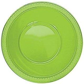 Kiwi Plástico Verde Fiesta Bols, 355 mls, paquete de 20