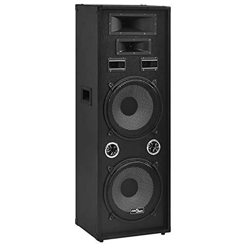 Susany Professioneller HiFi-/Bühnen-Lautsprecher Passiv Lautsprecherbox Bass...
