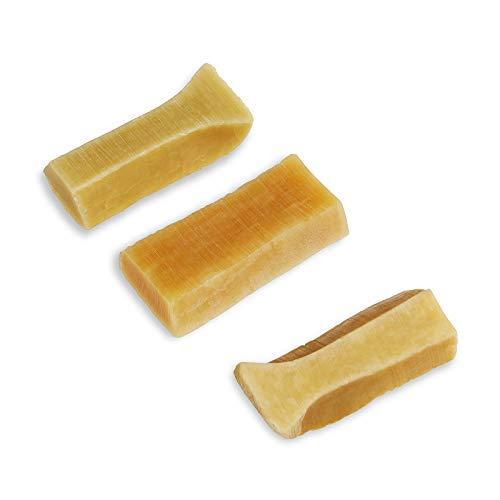 3 Piece Yak Chew for Dogs (Small Dogs), 100 grams yak milk dog chew,...