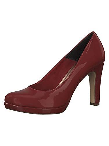 Tamaris 1-1-22426-23, Scarpe col Tacco con Plateau Donna, Rosso (Scarlet Patent 576), 39 EU