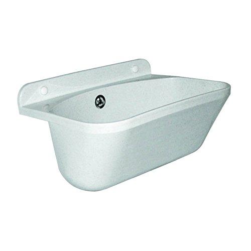 Stabilo-Sanitaer Kunststoff Ausgussbecken 460 x 360 x 200 mm 46x36x20cm Eko 20l Waschbecken Spülbecken weißer Granit