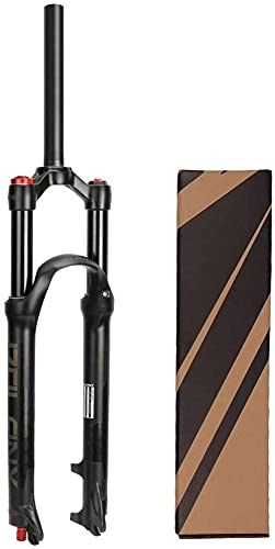 NYZXH Tenedor de Bicicletas 26/27.5/29 Pulgadas Bicicleta MTB Suspensión Tenedor, Tenedores de Aire de Freno de Disco Ultraligero para Bicicleta de montaña Offroad Ciclismo Cuesta Abajo TT