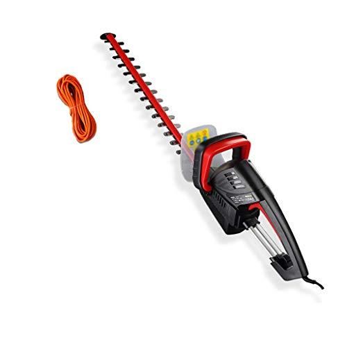 Cutter-haie électrique, 510 mm Longueur de la lame, haie électrique haie jardin Fleurs vert 850w kyman (Size : +50m extension cord)
