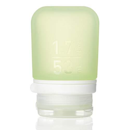 humangear GoToob+ Petite bouteille de voyage avec bouchon de verrouillage 44 ml Vert Taille S 44 ml