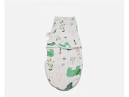 Bébé Cadeau doux pour nouveau-né Infant bébé Lange d'été mince Section de couchage Wrap Couverture Convient pour 0–6 mois